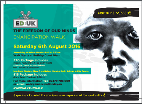 Emancipation Day UK - Leicester Walk