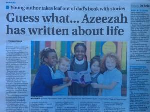 Azeezah Featured In The Leicester Mercury