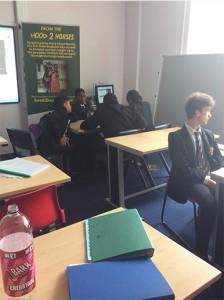 Lancaster School Novel Writing Session
