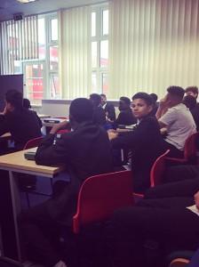 Lancaster School, Leicester - Workshop